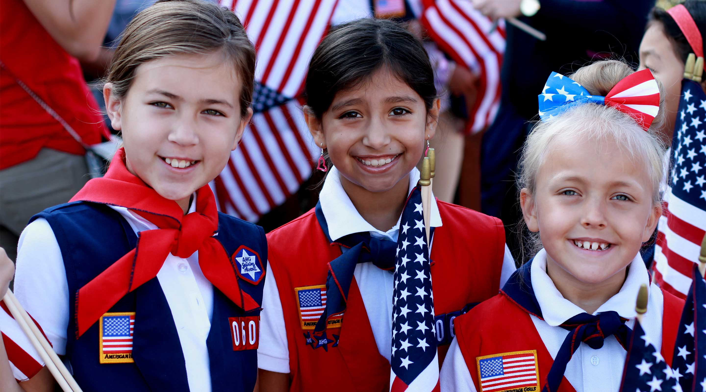 American Heritage Girls   Character Development Organization